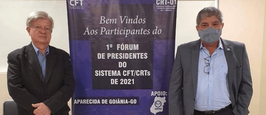 Encontro foi liderado pelo Presidente do CFT Téc. Edificações Wilson Wanderlei Vieira